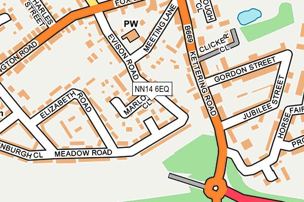 NN14 6EQ map - OS OpenMap – Local (Ordnance Survey)