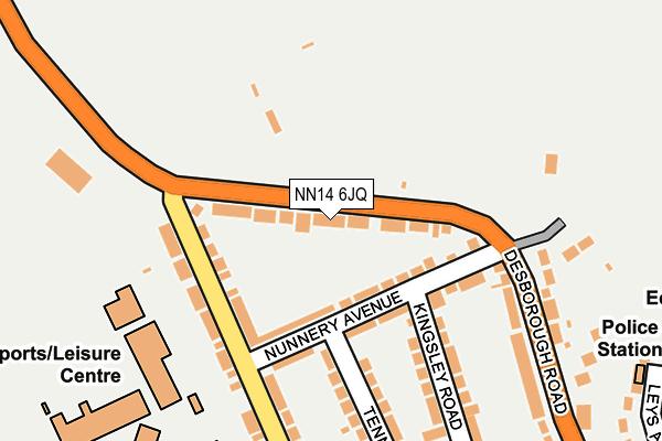 NN14 6JQ map - OS OpenMap – Local (Ordnance Survey)