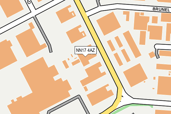 Map of ASTABRIDGE LIMITED at local scale