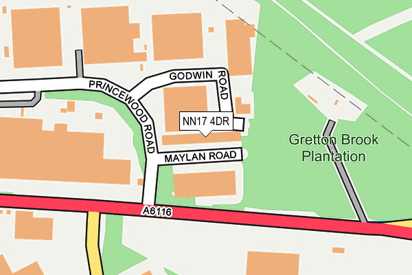 Map of ITUCCI LTD at local scale