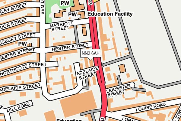 NN2 6AH map - OS OpenMap – Local (Ordnance Survey)