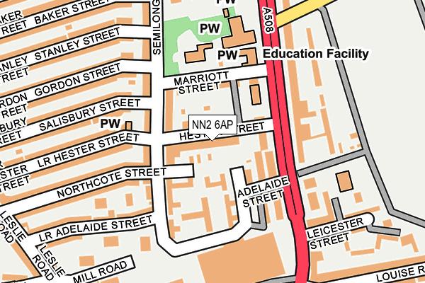 NN2 6AP map - OS OpenMap – Local (Ordnance Survey)
