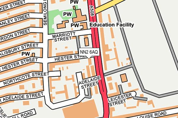 NN2 6AQ map - OS OpenMap – Local (Ordnance Survey)