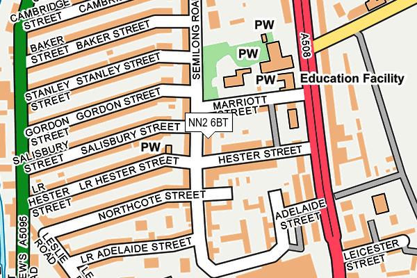 NN2 6BT map - OS OpenMap – Local (Ordnance Survey)