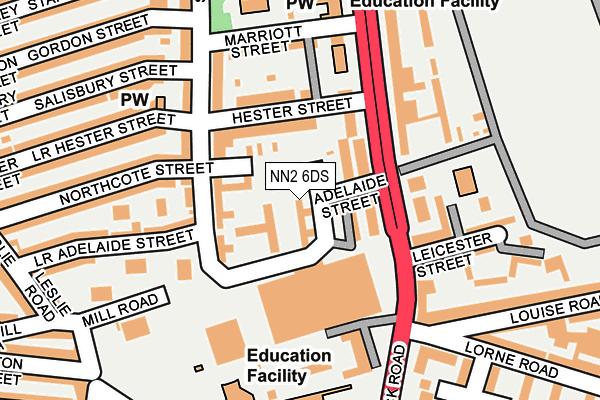 NN2 6DS map - OS OpenMap – Local (Ordnance Survey)