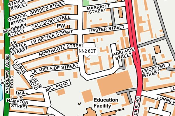 NN2 6DT map - OS OpenMap – Local (Ordnance Survey)