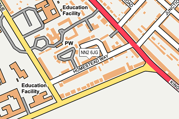 Map of KWIK PRO LTD at local scale