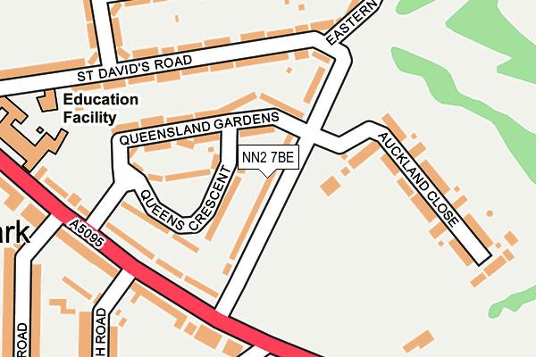 NN2 7BE map - OS OpenMap – Local (Ordnance Survey)