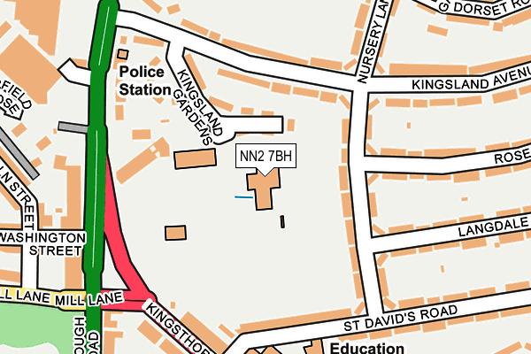 NN2 7BH map - OS OpenMap – Local (Ordnance Survey)