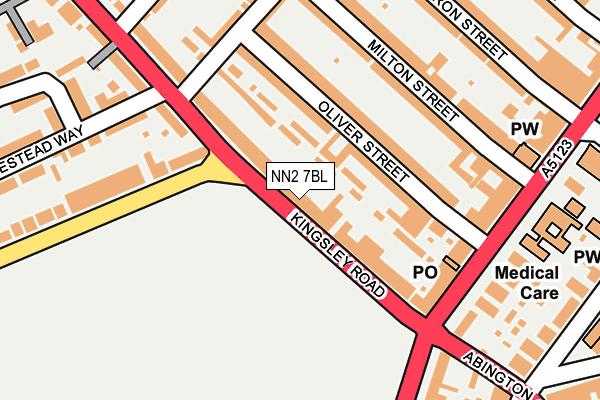 NN2 7BL map - OS OpenMap – Local (Ordnance Survey)