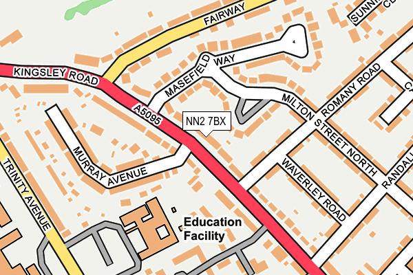 NN2 7BX map - OS OpenMap – Local (Ordnance Survey)