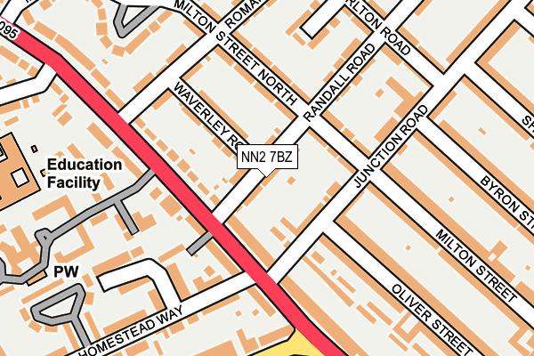 NN2 7BZ map - OS OpenMap – Local (Ordnance Survey)