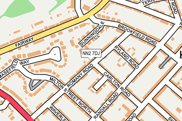 NN2 7DJ map - OS OpenMap – Local (Ordnance Survey)