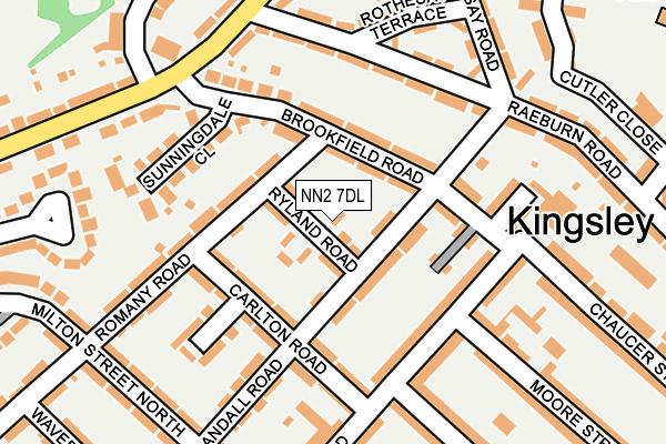 NN2 7DL map - OS OpenMap – Local (Ordnance Survey)