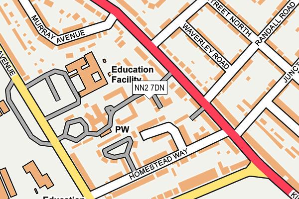 NN2 7DN map - OS OpenMap – Local (Ordnance Survey)