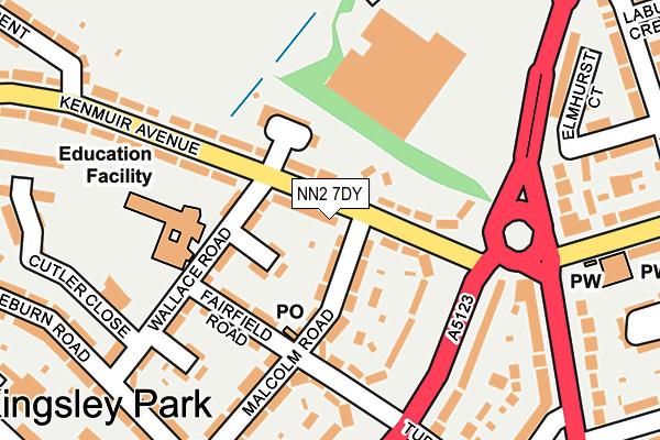 NN2 7DY map - OS OpenMap – Local (Ordnance Survey)