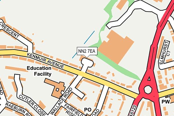 NN2 7EA map - OS OpenMap – Local (Ordnance Survey)