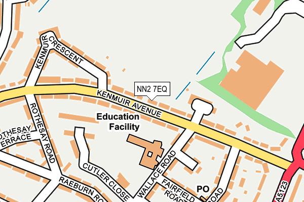 NN2 7EQ map - OS OpenMap – Local (Ordnance Survey)