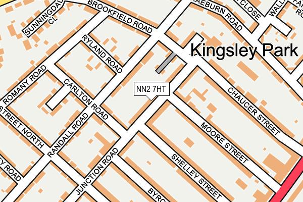 NN2 7HT map - OS OpenMap – Local (Ordnance Survey)