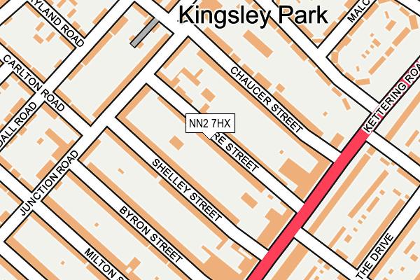NN2 7HX map - OS OpenMap – Local (Ordnance Survey)