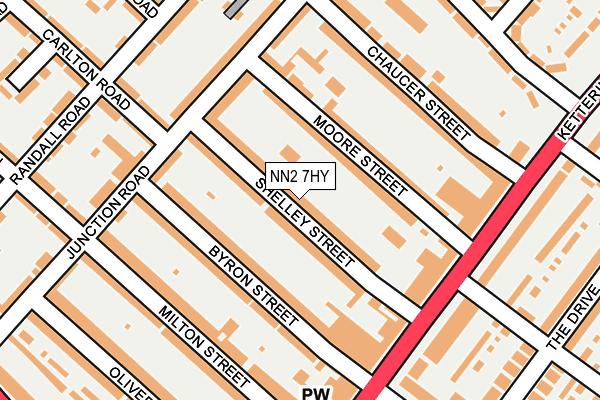 NN2 7HY map - OS OpenMap – Local (Ordnance Survey)