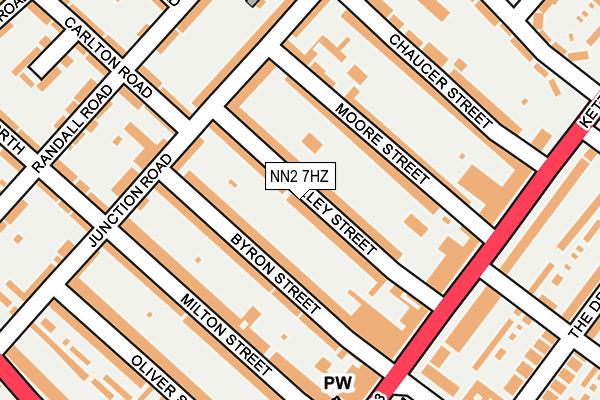 NN2 7HZ map - OS OpenMap – Local (Ordnance Survey)