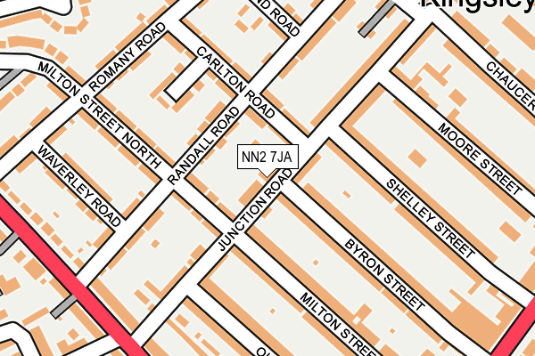 Map of INTRADERS LTD at local scale