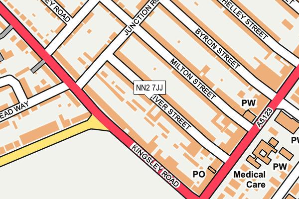 NN2 7JJ map - OS OpenMap – Local (Ordnance Survey)
