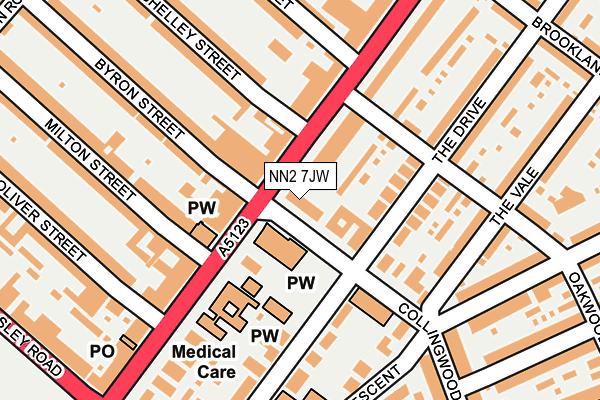 NN2 7JW map - OS OpenMap – Local (Ordnance Survey)