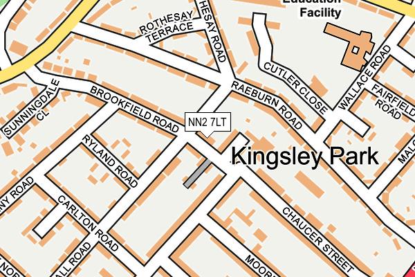 NN2 7LT map - OS OpenMap – Local (Ordnance Survey)