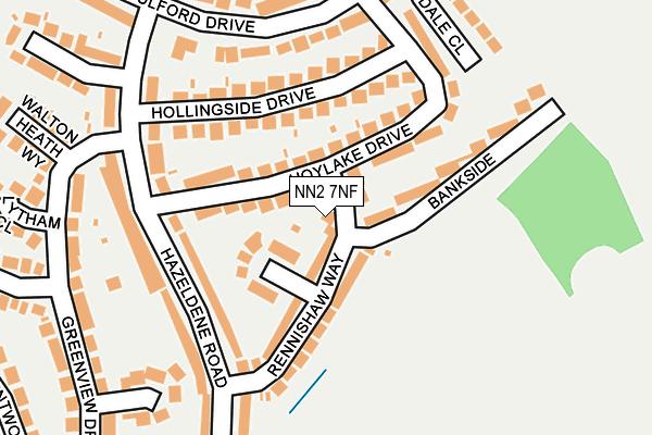 NN2 7NF map - OS OpenMap – Local (Ordnance Survey)