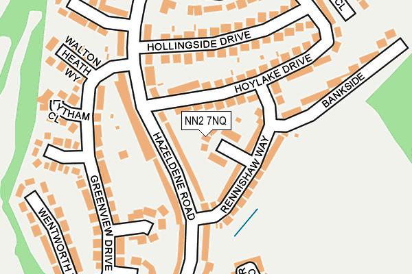 NN2 7NQ map - OS OpenMap – Local (Ordnance Survey)