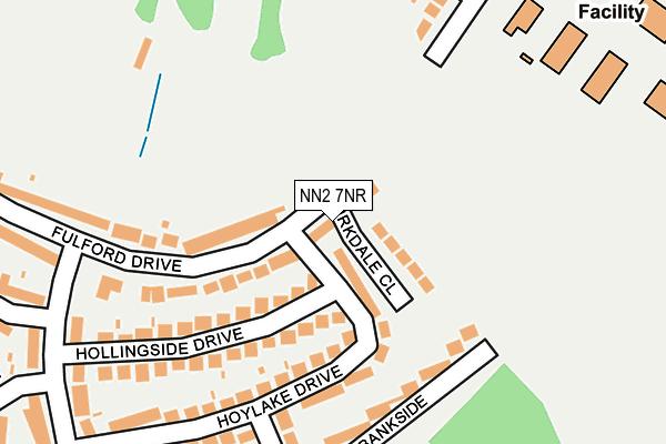 NN2 7NR map - OS OpenMap – Local (Ordnance Survey)