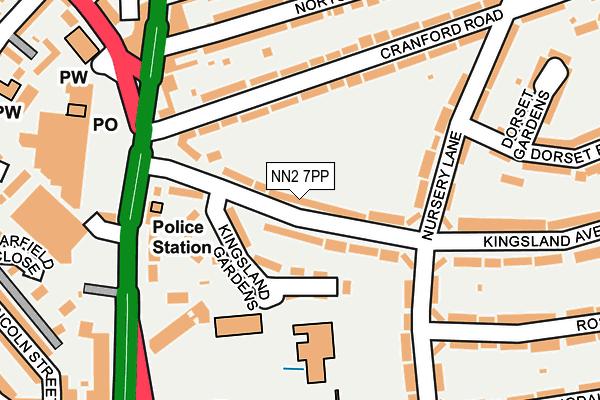 NN2 7PP map - OS OpenMap – Local (Ordnance Survey)