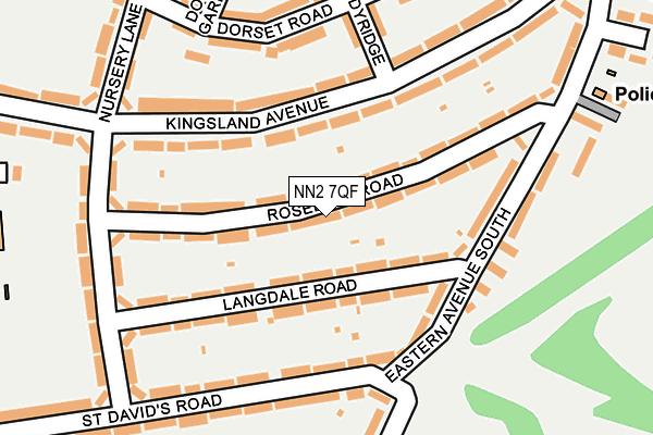 NN2 7QF map - OS OpenMap – Local (Ordnance Survey)