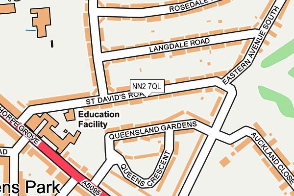 NN2 7QL map - OS OpenMap – Local (Ordnance Survey)