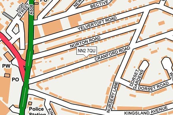 NN2 7QU map - OS OpenMap – Local (Ordnance Survey)