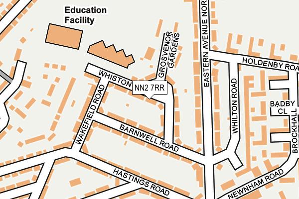 NN2 7RR map - OS OpenMap – Local (Ordnance Survey)