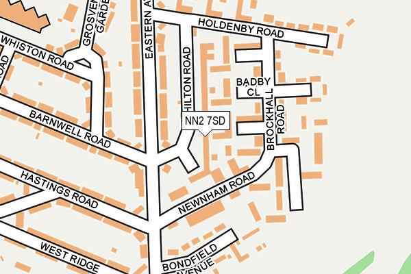 NN2 7SD map - OS OpenMap – Local (Ordnance Survey)