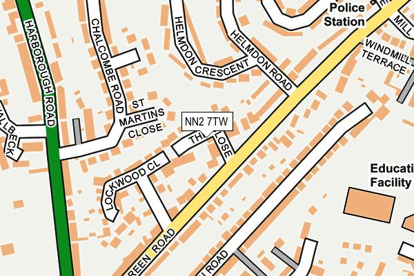 NN2 7TW map - OS OpenMap – Local (Ordnance Survey)