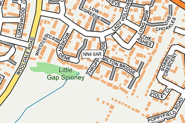 NN4 6AR map - OS OpenMap – Local (Ordnance Survey)
