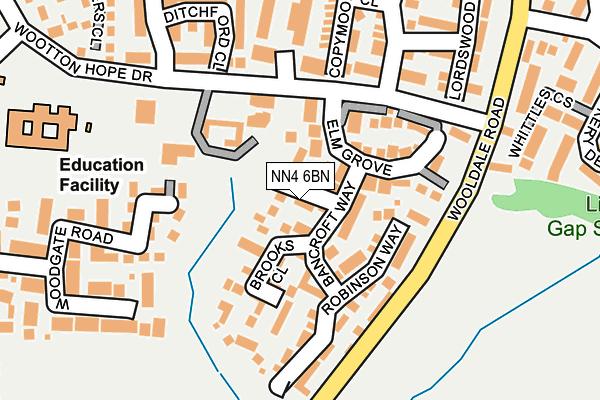 NN4 6BN map - OS OpenMap – Local (Ordnance Survey)