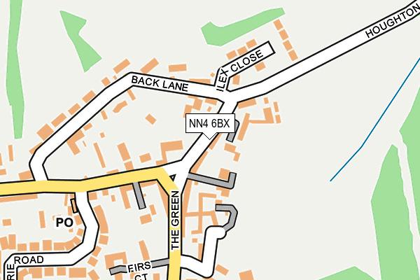 NN4 6BX map - OS OpenMap – Local (Ordnance Survey)