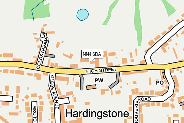 NN4 6DA map - OS OpenMap – Local (Ordnance Survey)
