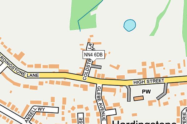 NN4 6DB map - OS OpenMap – Local (Ordnance Survey)