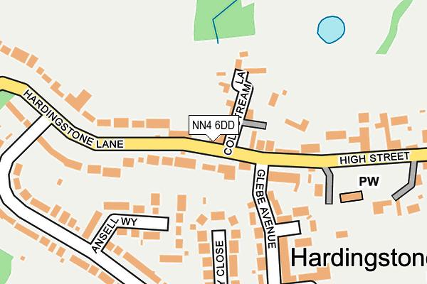 NN4 6DD map - OS OpenMap – Local (Ordnance Survey)