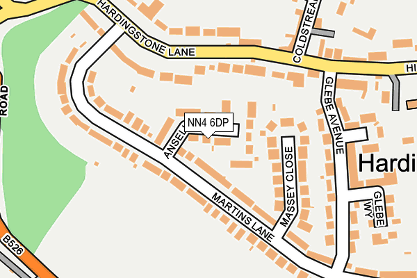 Map of LAHMAN LTD at local scale