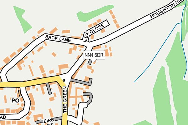 NN4 6DR map - OS OpenMap – Local (Ordnance Survey)