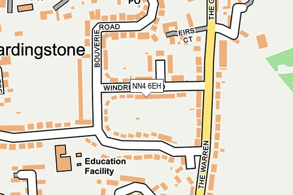 NN4 6EH map - OS OpenMap – Local (Ordnance Survey)