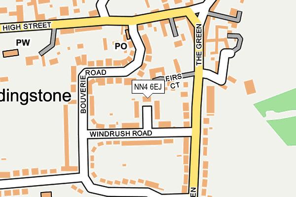 NN4 6EJ map - OS OpenMap – Local (Ordnance Survey)